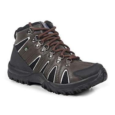 Bota Adventure Masculina Polo State Dinar (42, Marrom)