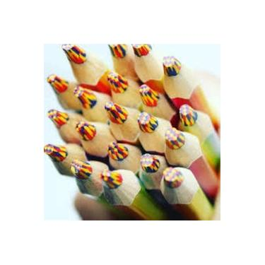 Lápis de cor Jumbo Rainbow TRIS