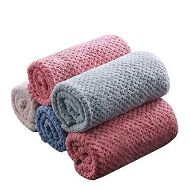 Panos de prato de microfibra panos de cozinha absorventes de água macios de veludo coral conjunto de toalhas de cozinha para secar pratos, panos de prato para casa, panos de limpeza de cozinha