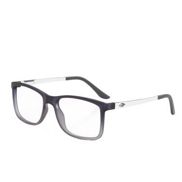 974a4cb29cf21 Óculos de Grau Mormaii Masculino Pequim Aluminium M6066DE653 - Acetato Cinza