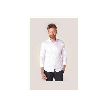 Camisa Aramis Super Slim Night Cetim Stretch Branco