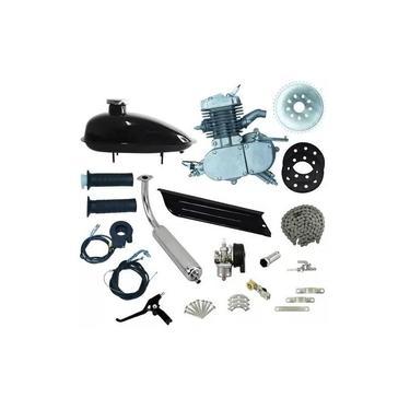 Kit Completo Motor Para Bicicleta Motorizada 80cc