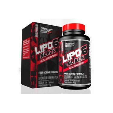 Lipo 6 Black Ultra Concentrado (120 cápsulas) Nutrex