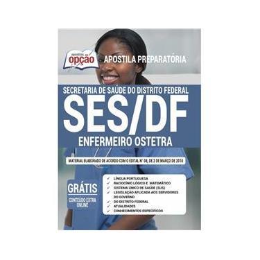 Imagem de Apostila Ses Df - Enfermeiro Obstetra - Distrito Federal