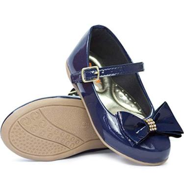 Sapatilha Infantil Feminina Moda Barato 201 (24, Azul Marinho)