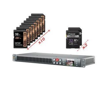Blackmagic Duplicator 4K Blackmagic Codificação H.265 Tempo Real