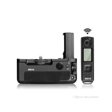 Imagem de Baterry Grip Meike MK-A9 Pro com Controle Remoto para Sony a9, a7RIII, a7III ( A7r3 /  ILCE-7RIII / a73 / A7m3 / A7 Mark3 / A7 III / ILCE-7III