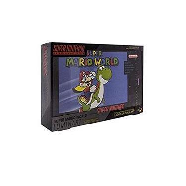 Luminária Nintendo Super Mario World Light 3D - Paladone
