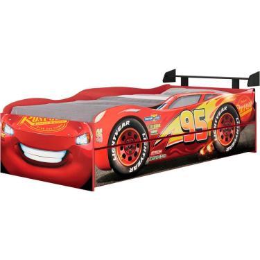e4e8d78bd8 Bicama Infantil Carros Disney Fun Pura Magia - Vermelho com Preto