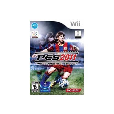 Jogo Nintendo Wii Pro Evolution Soccer - Pes 2011 (wii) Lacrado Original