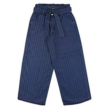 Calça Look Jeans Pantalona Jeans - UNICA - 12
