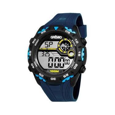 9e61a9460a5 Relógio Masculino Technos Clubes Gremio GRE1360A 8A Azul