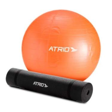 Kit para Pilates com 3 Peças ES126 Laranja Preto - Atrio a3f466f60499