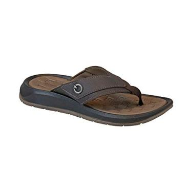 Chinelo Cartago Santorini Brown Masculino