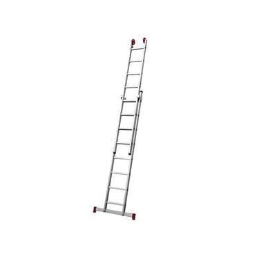 Escada Alumínio 4 em 1 Pintor Extens 8X2 Degraus