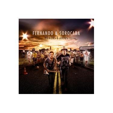 Imagem de Fernando & Sorocaba Homens e Anjos - CD Sertanejo