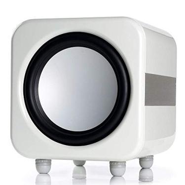 "Monitor Audio Apex W12 - Subwoofer ativo para Home Theater de 12"" 500w RMS Branco Laqueado"