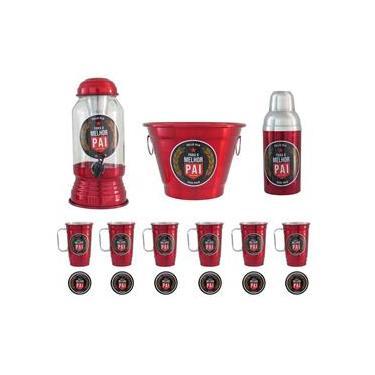 Kit Cerveja Completo Dias Dos Pais Vermelho