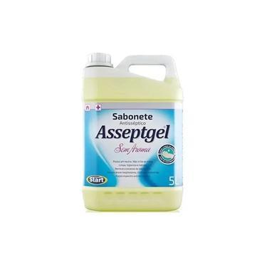 Sabonete Líquido Antisseptico Asseptgel 5 Litros Sem Aroma