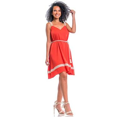 Vestido Ana Terracota Use Fashionista (P)