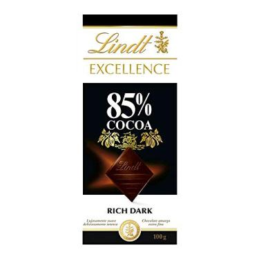 Chocolate Amargo Extra Fino 85% Cacau Excellence Caixa 100g Lindt