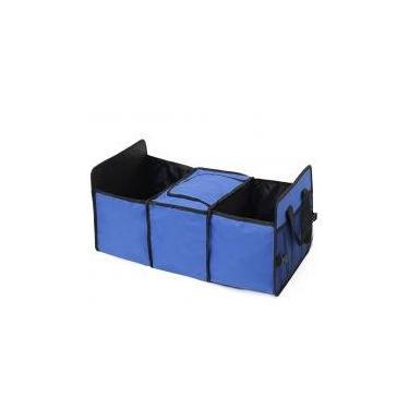 Imagem de Organizador Carro com Área Térmica banco traseiro porta mala Azul - Lorben