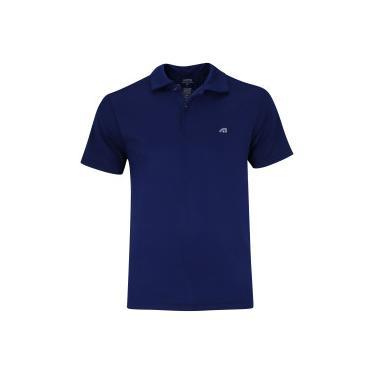 Camisa Polo Adams Bryan - Masculina - AZUL ESCURO Adams 1be39600c70eb