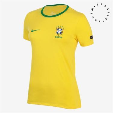 863aa87169a89 Camisas de Times de Futebol Casuais Brasil Nike