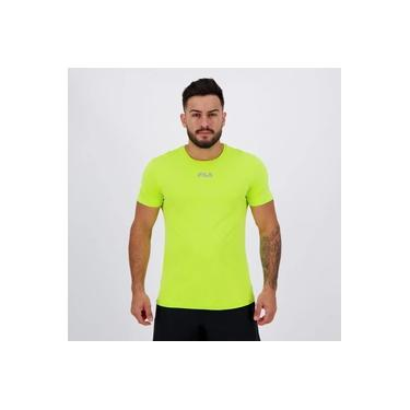 Camiseta Fila Basic Sunprotect UV Verde