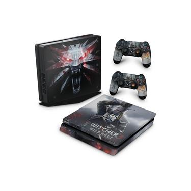 Skin Adesivo para PS4 Slim - The Witcher #A