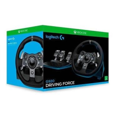 Volante Logitech G920 Driving Force Xbox One/PC - 941-000122