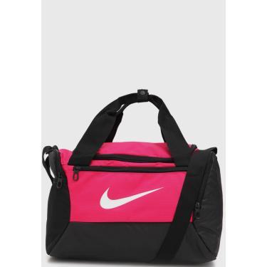 Imagem de Bolsa Nike Brsla Xs Duff 9.0 Preta/Rosa Nike BA5961-666 unissex