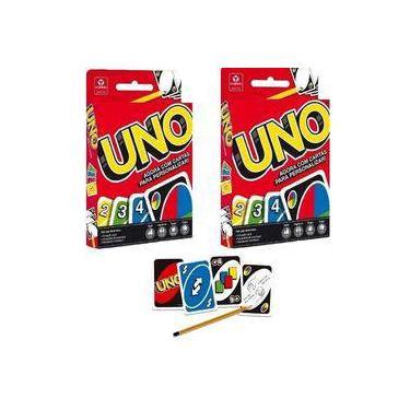 Imagem de Kit Uno Copag Baralho 02 UNIDADES - Jogo de Cartas Diversão