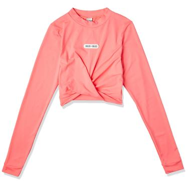 Blusa Cropped, Colcci Fitness, Feminino, Rosa Force, G
