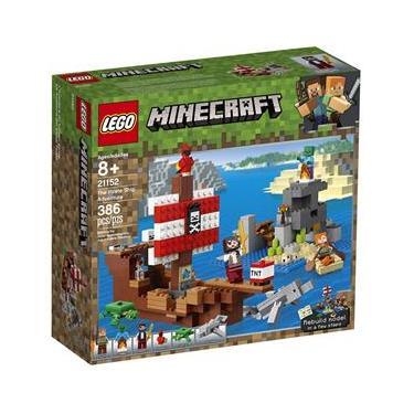 21152 Lego Minecraft - a Aventura do Barco Pirata
