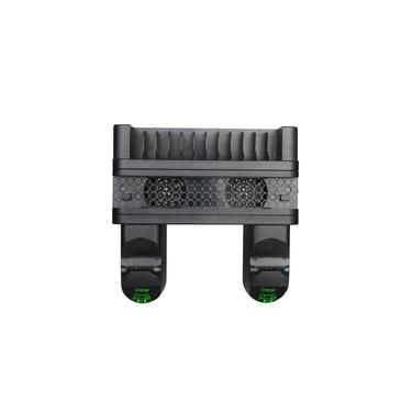 3-em-1 Vertical Estação de Carregamento Stand Dock Charger para Game Controller Cooler Ventilador de Refrigeração para PlayStation 4 PS4 Slim PS4 Pro