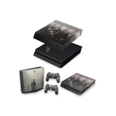 Capa Anti Poeira e Skin para PS4 Slim - The Order