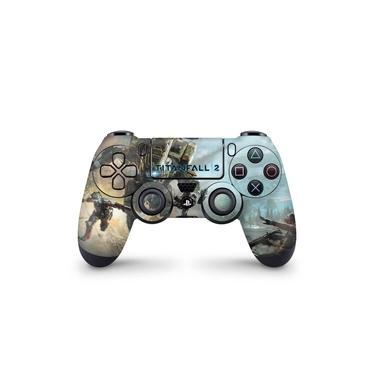 Skin Adesivo para PS4 Controle - Titanfall 2 #A