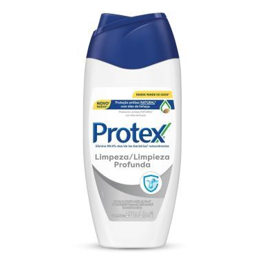 Sabonete Líquido Corporal Protex Limpeza Profunda com 250ml 250ml