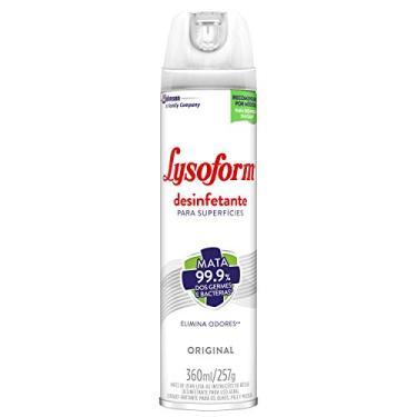 Desinfetante Lysoform Aerossol Original 360ml