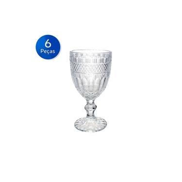 Conjunto 6 Taças de Vidro 220 ml Brand - Bon Gourmet - Transparente