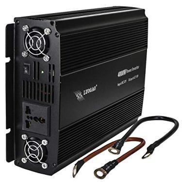 Inversor de Energia 4000w potencia 12v Para 110v transformador onda modificada