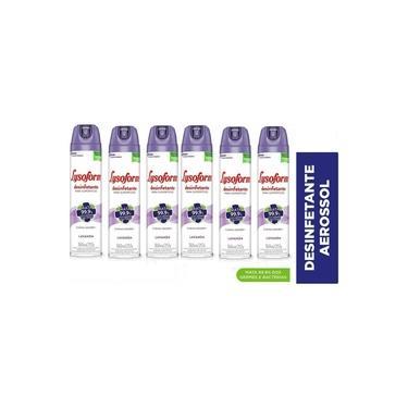 Kit C/6 Unidades - Lysoform Spray Lavanda 360ml
