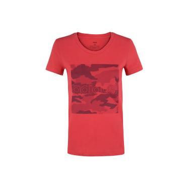 Camiseta adidas Boxed Camo Graphic - Feminina adidas Feminino
