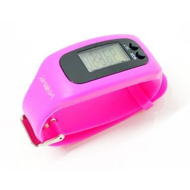 Relógio Pedômetro Liveup - Rosa