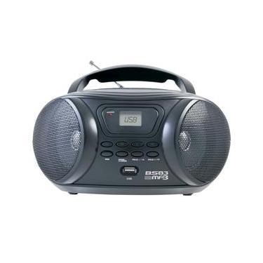 Rádio Portátil Britânia BS83 com MP3, Entrada USB, Entrada Auxiliar e Rádio FM – 3,4 W