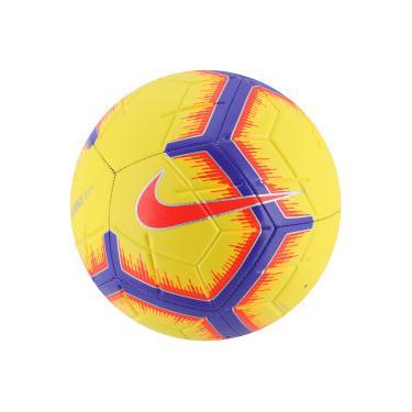 78b8e62e1d Bola de Futebol de Campo Nike Strike FA18 - AMARELO ROXO Nike