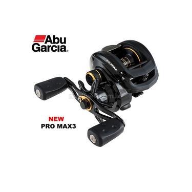 Carretilha Abu Garcia Nova Pro Max 3 Pmax3 - Esquerda