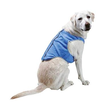 Colete Gelado Azul Jambo Pet - Tamanho GG