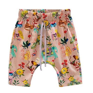 Shorts saruel estampado nude 1 ano
